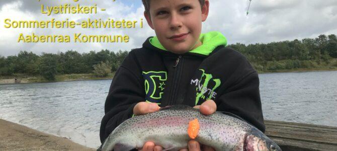 Mjøls Lystfiskeri: Jonathan fik et godt hug…