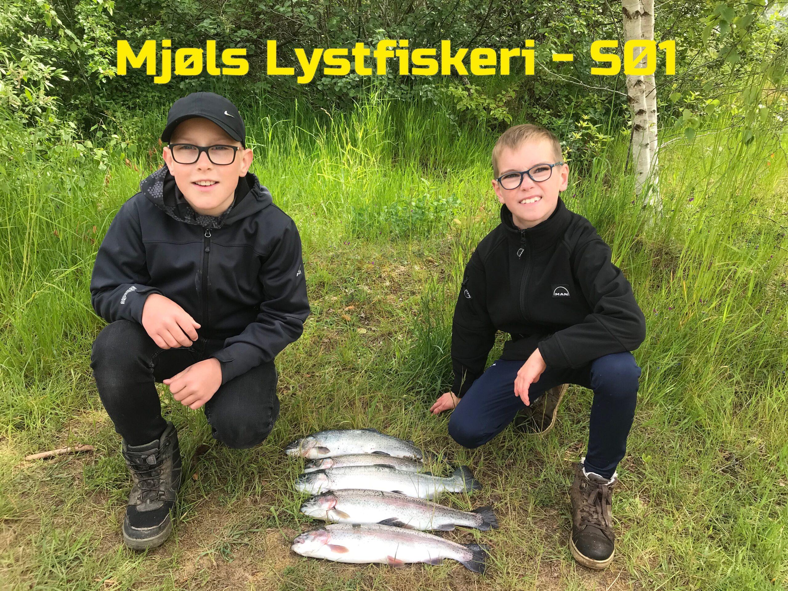 Mjøls Lystfiskeri: De fik Full House søndag formiddag