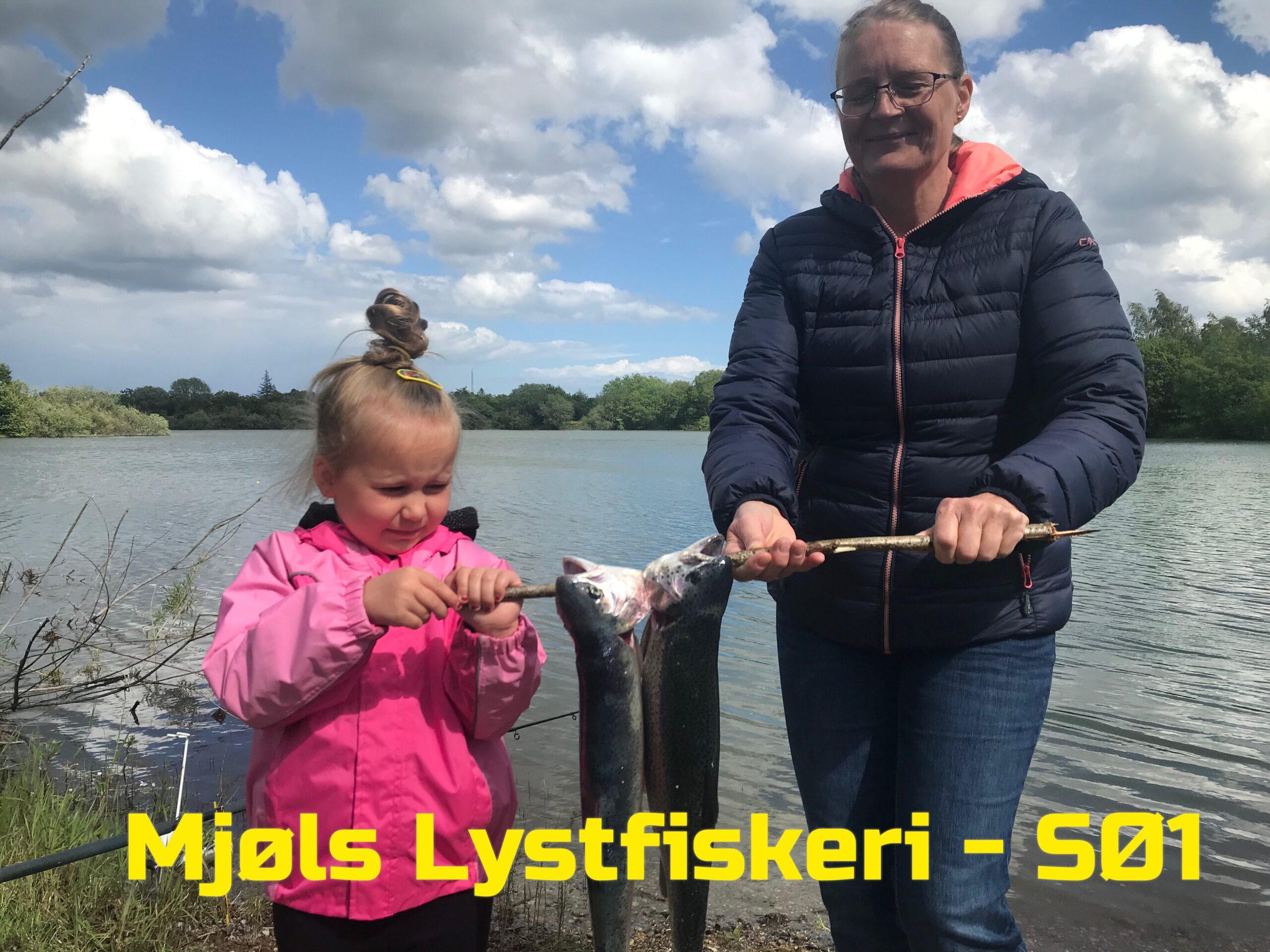 I dag fik de også fisk i SØ2 i Mjøls Lystfiskeri