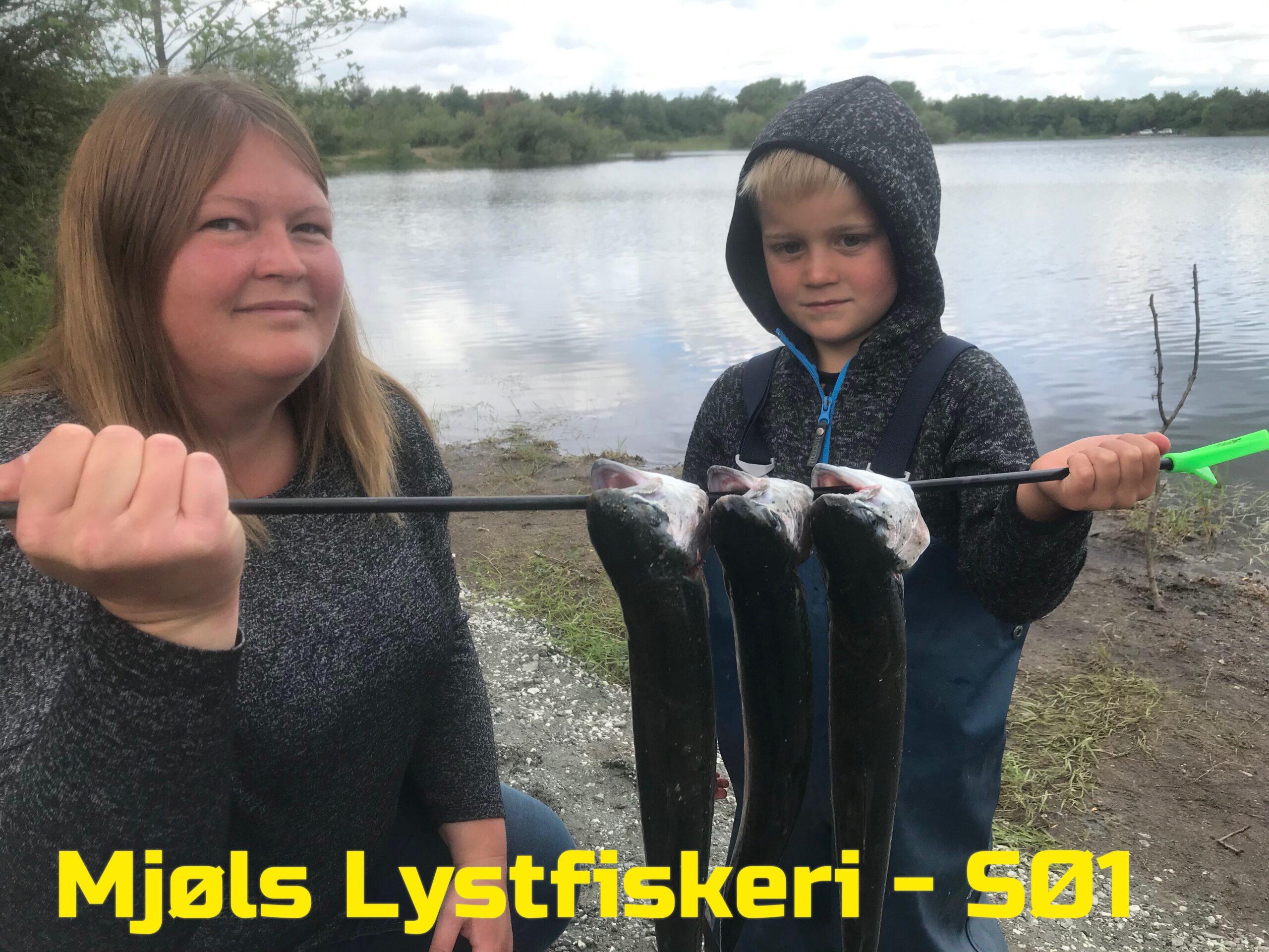 Mjøls Lystfiskeri – Mor var også med på fisketur