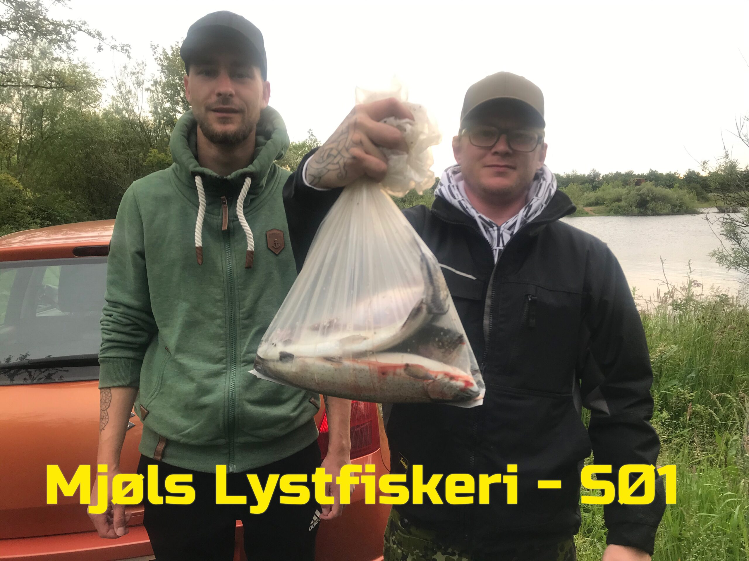 Mjøls Lystfiskeri – Kenneth og Sune fik fisk på krogen