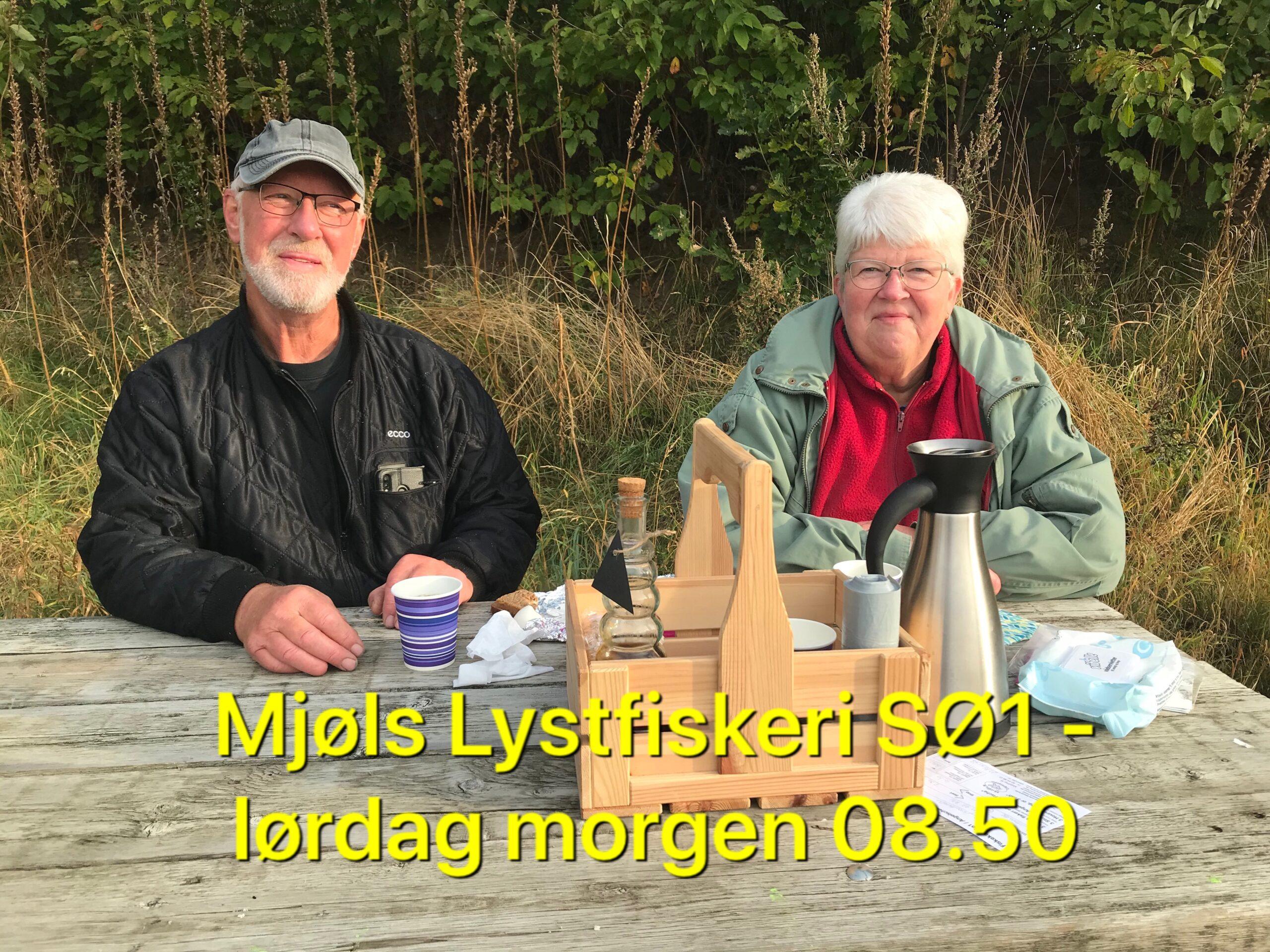 Mjøls Lystfiskeri – SØ1 – de hugger også lørdag morgen