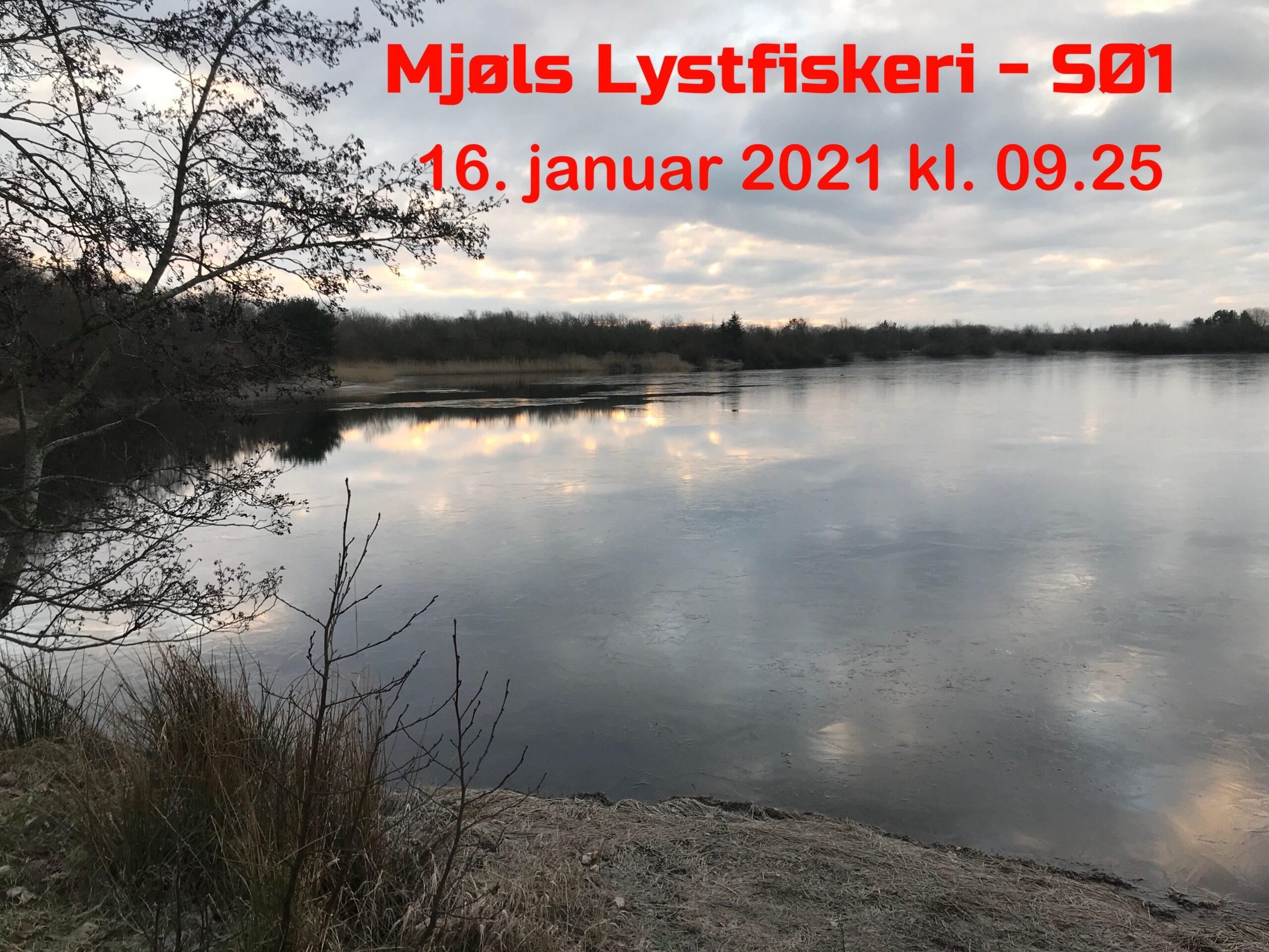 Lørdag den 16. januar – is på begge søer