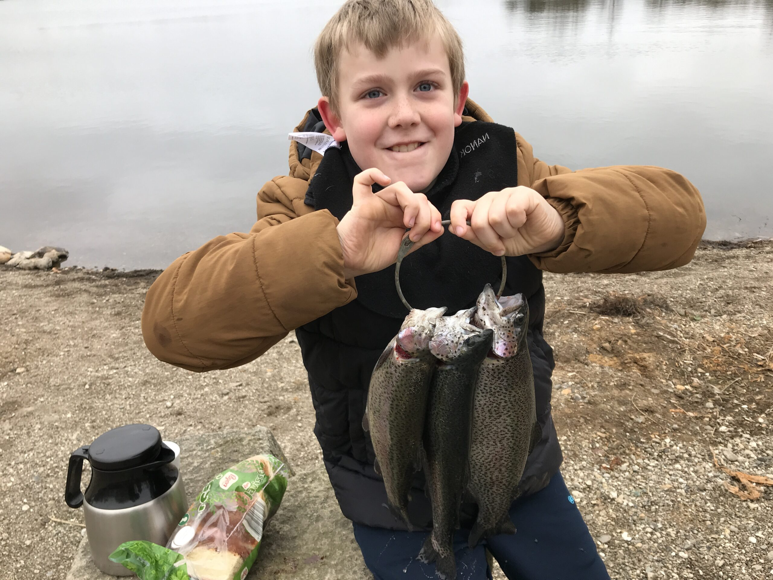 Påskesøndag: Tobias fra Tønder fangede aftensmaden