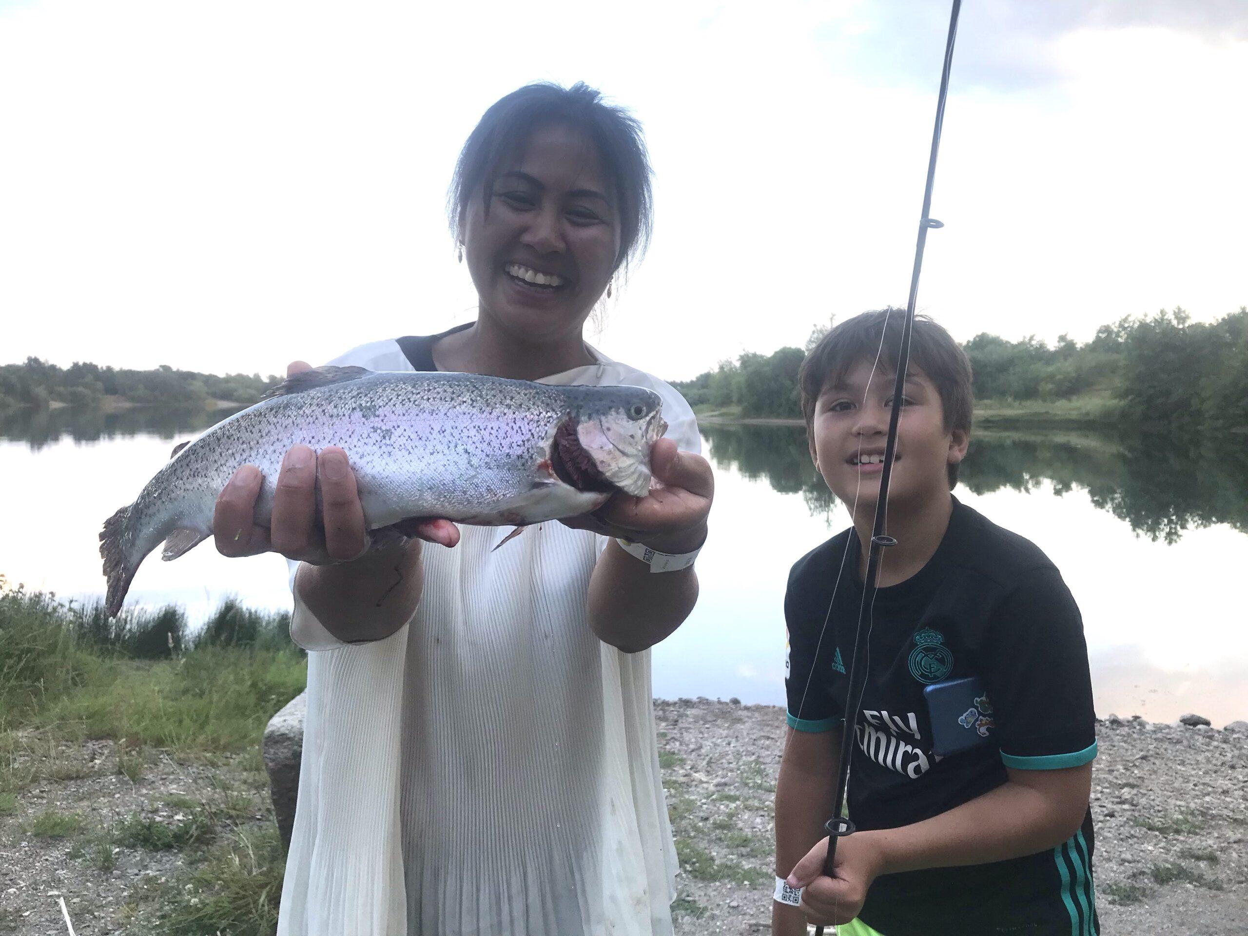 Mjøls Lystfiskeri – Den huggede i SØ1 fredag eftermiddag.