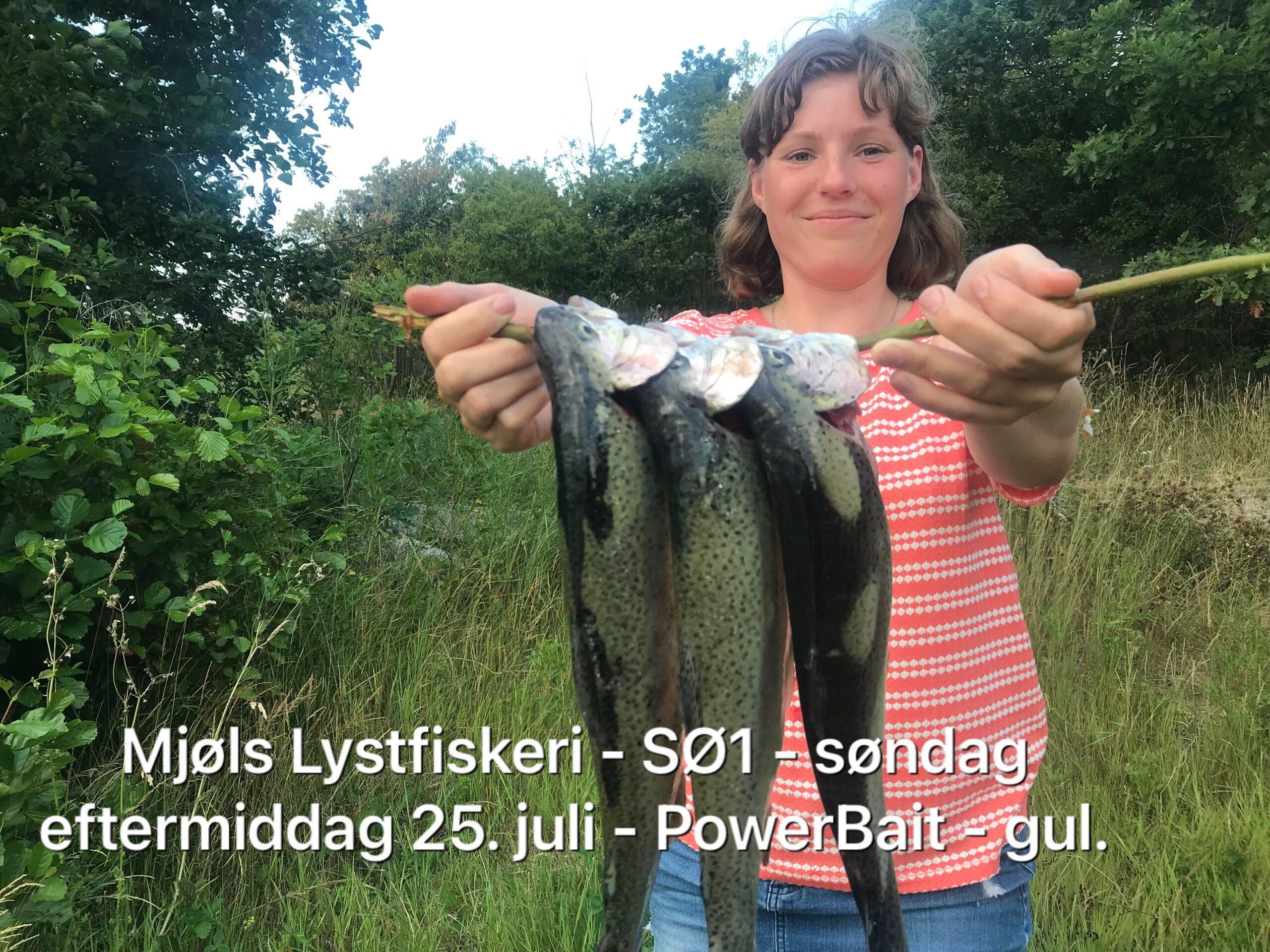Sara Eggert fangede selv aftensmaden