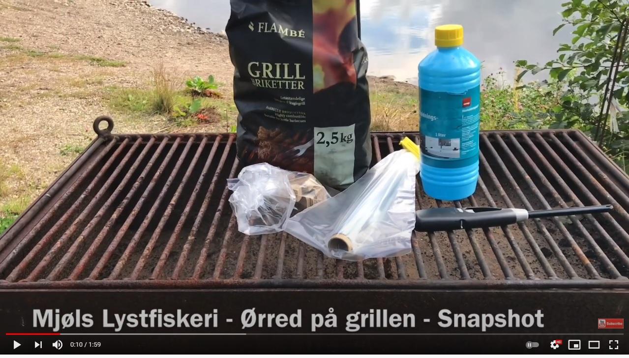 SE VIDEO – Mjøls Lystfiskeri – brug grillen ved SØ1