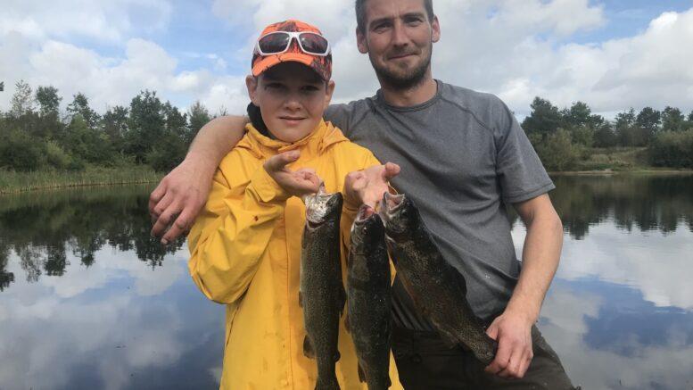 Unge Lucas på 11 år fra Haderslev fangede selv aftensmaden i dag